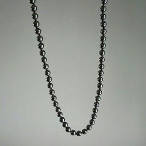 Jewelry - Hermatite beaded necklace
